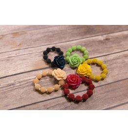 Chunky Rose Bracelet