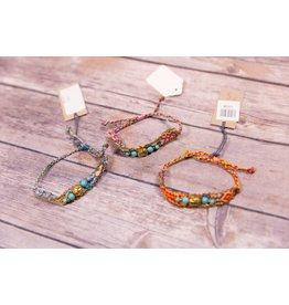 Bela & Nuni Buddha Friendship Bracelet