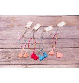Bela & Nuni Seed Tassel Bracelet