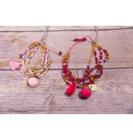 Bela & Nuni Bell Tassel Bracelet BR-12