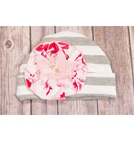 She Bloom Strawberry Field Hat