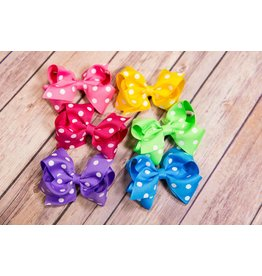 Wee Ones Small Maxi Dot Bow