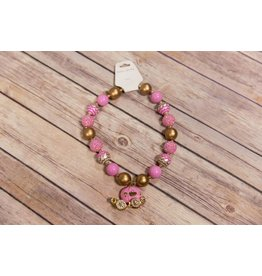 Princess Carriage Chunky Necklace