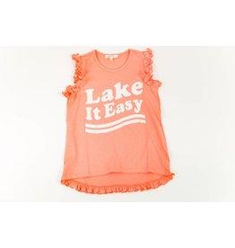 Paper Flower Lake It Easy Shirt