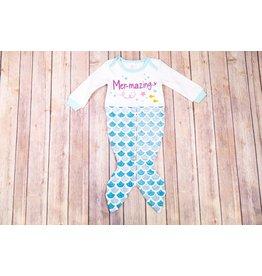 Ganz Mer-Mazing Mermaid Tail Gown 3-9M