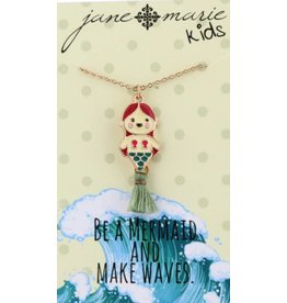 Jane Marie Mermaid Tassel Necklace