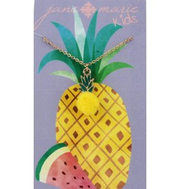 Jane Marie Pineapple Pom Necklace