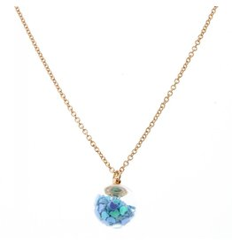 Jane Marie Confetti Globe Necklace