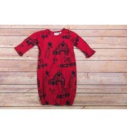 koko-nut Milk Boys Farmhouse Gown