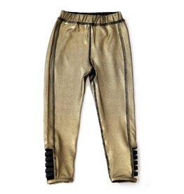 Kapital K Gold Metallic Leggings