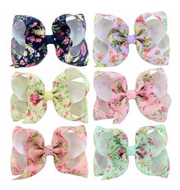 Small Floral Bow
