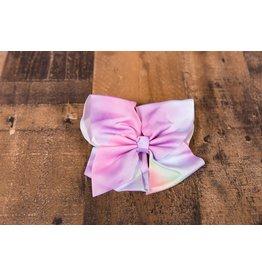 Pastel Rainbow Ombre Bow