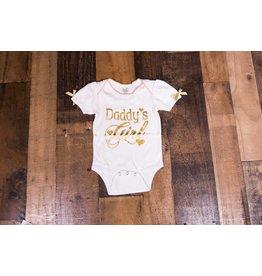 Ganz Daddy's Girl Gold Onesie