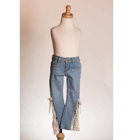 MLKids Light Denim Bellbottom Jeans