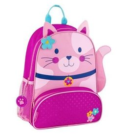 stephen joseph Pink Kitty Backpack