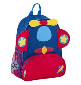 stephen joseph Airplane Sidekick Backpack
