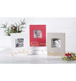 Mud Pie Our First Christmas Block Frame