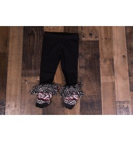 Mimi & Maggie Tribes Jacquard Charcoal Leggings