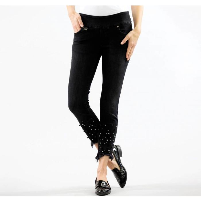 Betty Denim – Ankle with Pearls