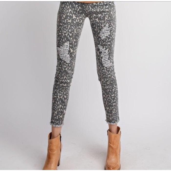 Animal Print Pant