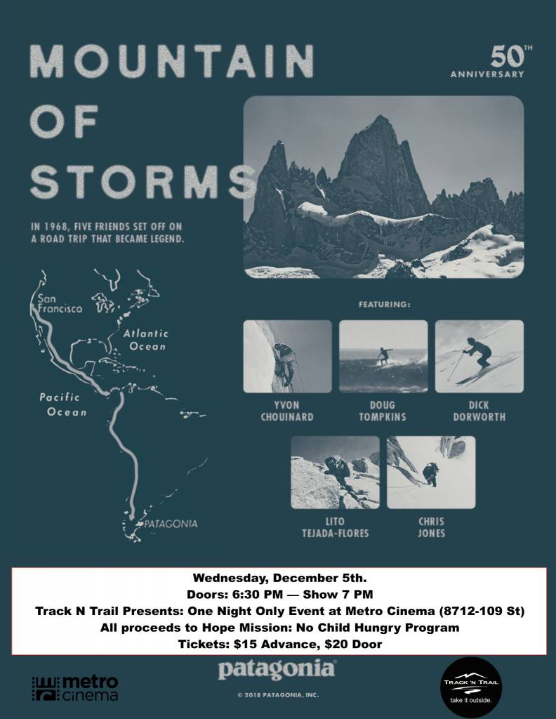 Track 'N Trail Mountain of Storms (Wed. Dec 5th)