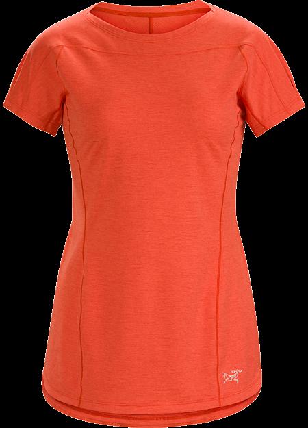 Arcteryx Women's Taema Crew Neck Shirt Short Sleeve