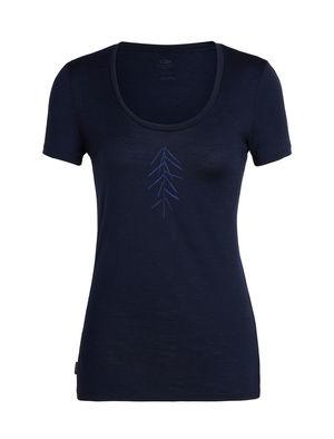 Icebreaker Women's Tech Lite Short Sleeve Scoop Lancewood