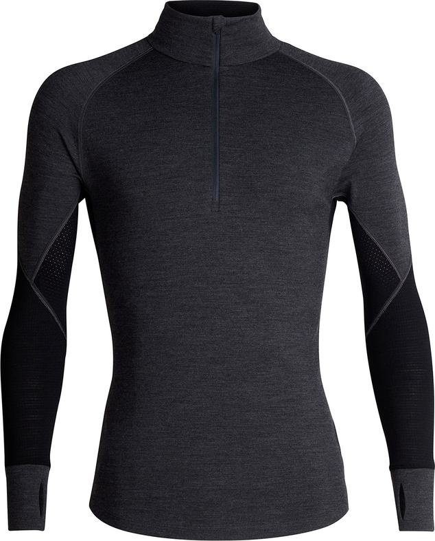 Icebreaker Men's BodyFit 260 Zone Long Sleeve Half Zip