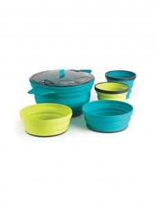 Sea to Summit X Set 31: X Pot 2.8L & (2) X Bowls & (2) X Mugs