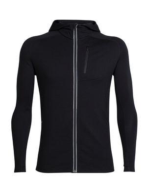 Icebreaker Men's Quantum Long Sleeve Zip Hood