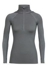 Icebreaker Women's Fluid Zone Long Sleeve Half Zip Hood