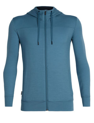 Icebreaker Men's Shifter Long Sleeve Zip Hood