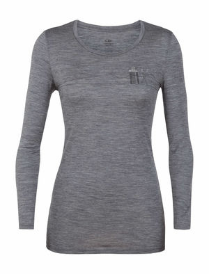 Icebreaker Women's Tech Lite Long Sleeve Low Crew