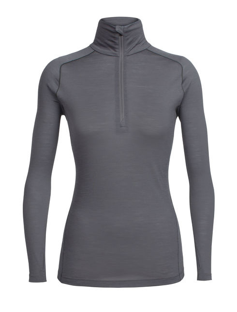 Icebreaker Women's Zeal Long Sleeve Half Zip