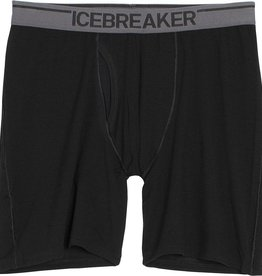Icebreaker Mn Anatomica Long Boxer w/ Fly
