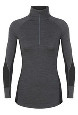Icebreaker Women's BodyFit 260 Zone Long Sleeve Half Zip
