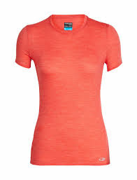 Icebreaker Women's Amplify Short Sleeve Low