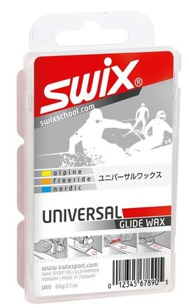 Swix Biodegradable Universal Wax 60g