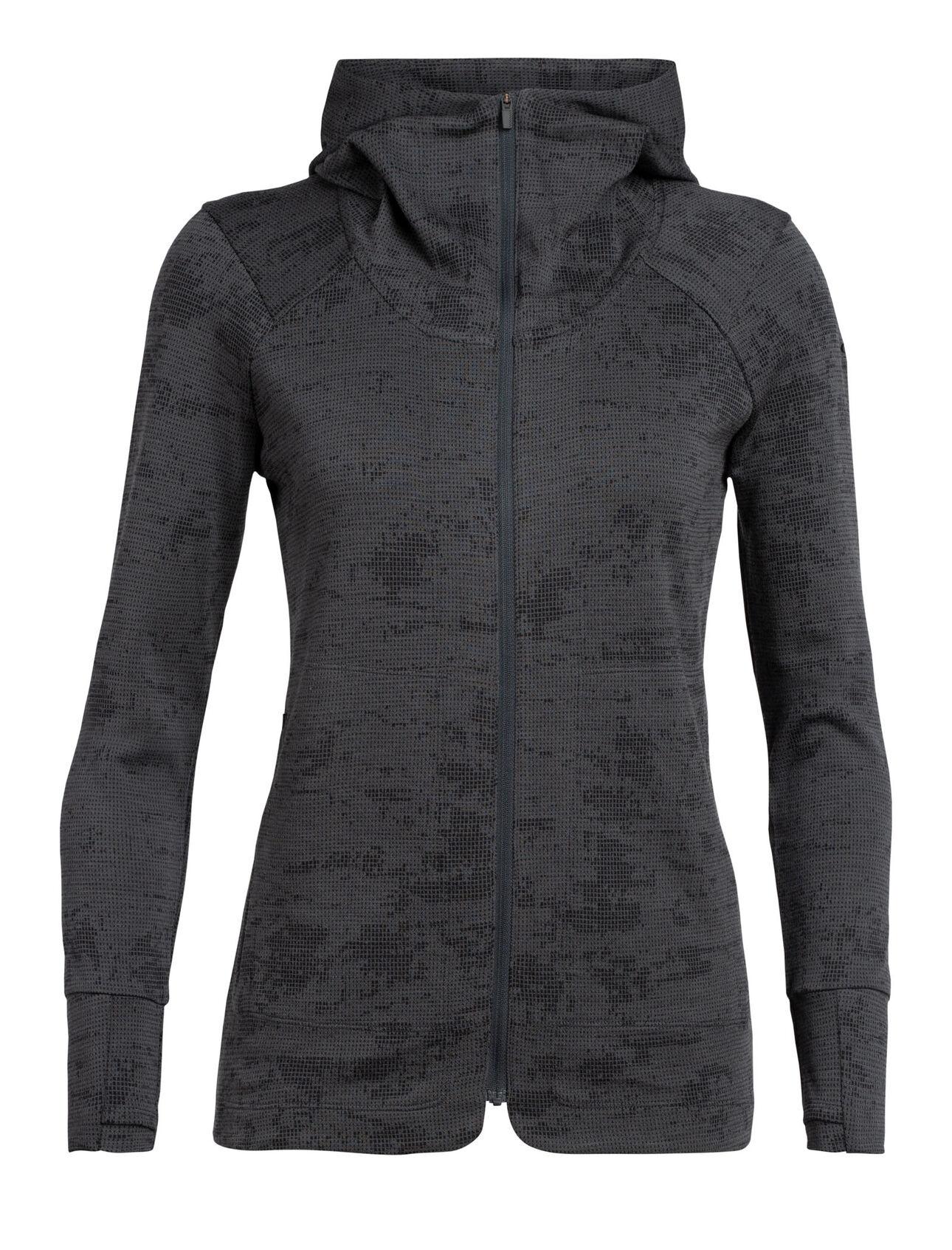 Icebreaker Women's Away II Long Sleeve Zip Hood