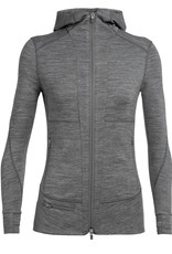 Icebreaker Women's Quantum II Long Sleeve Zip Hood