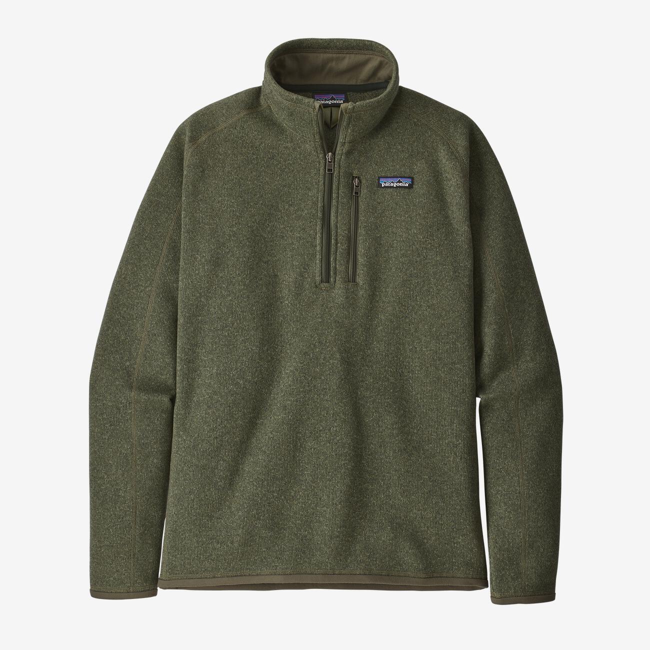 Patagonia Men's Better Sweater 1/4 Zip Fleece