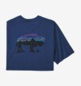 Patagonia Mn Fitz Roy Bison T-Shirt