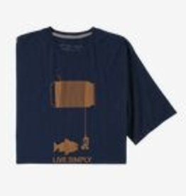 Patagonia Mn Live Simply HappyHour T