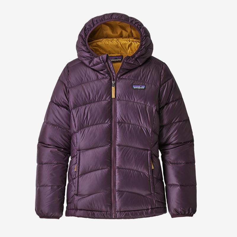 Patagonia Girl's Hi-Loft Down Sweater Hoody