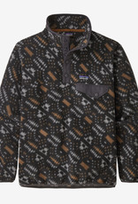 Patagonia Boy's LightWeight Synchilla Snap-T Fleece PullOver