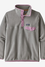Patagonia Girl's LightWeight Synchilla Snap-T Fleece PullOver