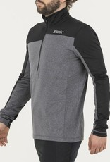 Swix Men's Myrene Asymmetrical 1/2 Zip Sweater