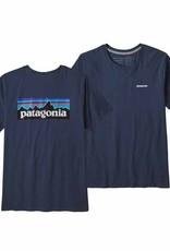 Patagonia Women's P-6 Logo Organic Cotton T-Shirt