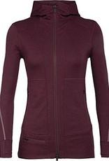 Icebreaker Women's Quantum II Long Sleeve Zip Hoody