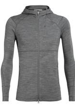 Icebreaker Men's Quantum II Long Sleeve Zip Hood